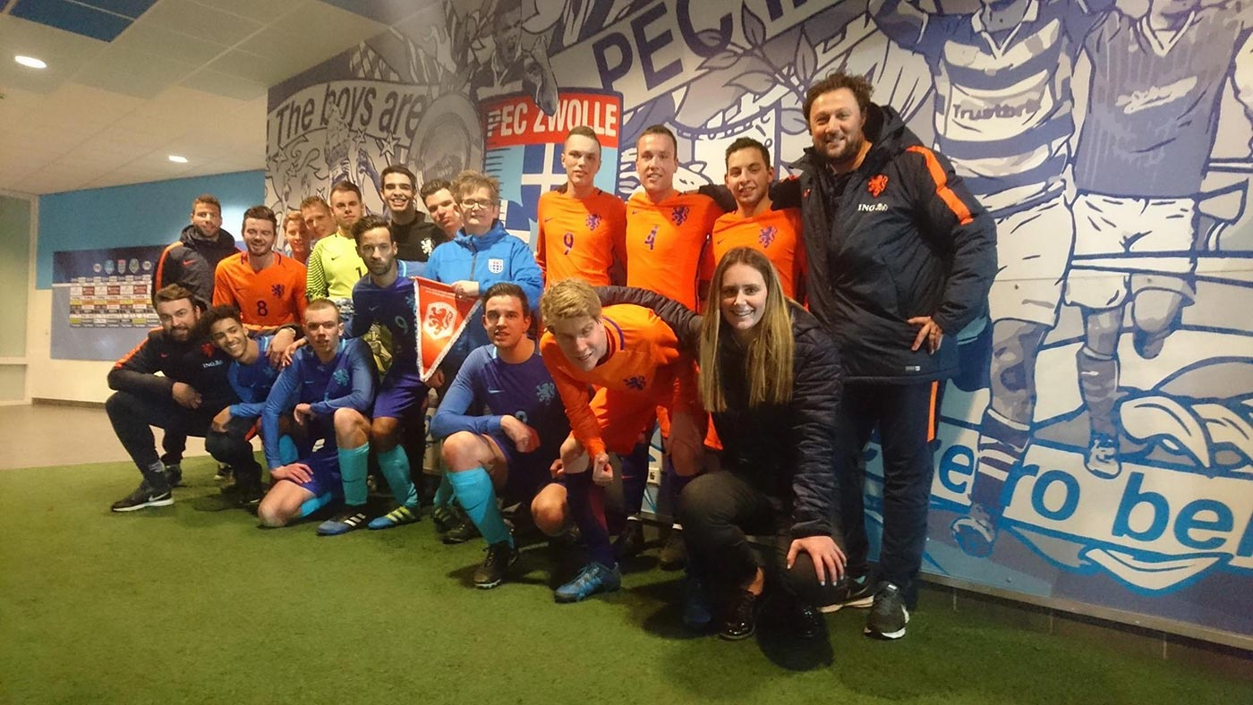 Voetbaluitje Oranje | SIVKO